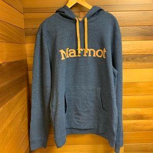Marmot Vintage Navy Heather Hoodie Sweatshirt